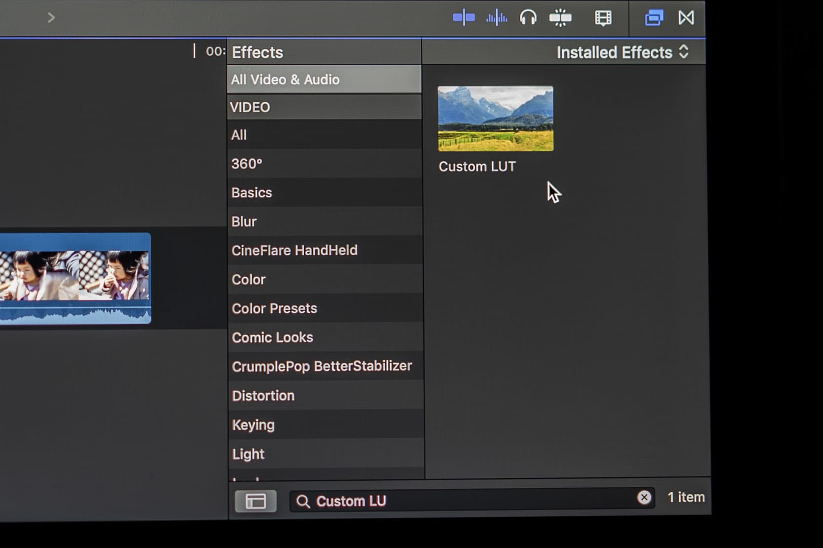How to use Custom LUT in Final Cut Pro X • Lumosmax